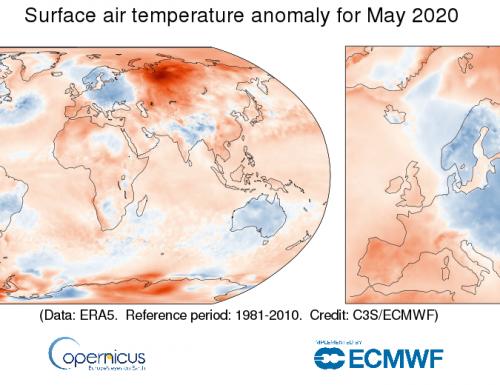 Il riscaldamento globale continua